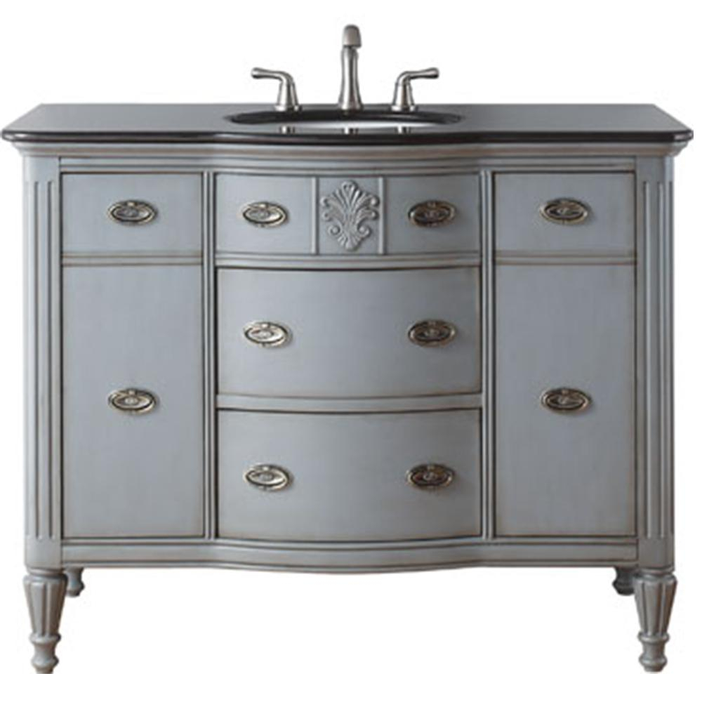 Glamorous Home Decorators Collection Wellington 44 In. W X 22 In. D Bath in Luxury 44 Bathroom Vanity