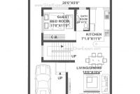Glamorous House Plan For 30 Feet40 Feet Plot (Plot Size 133 Square Yards with Unique 30 40 House Plans Vastu