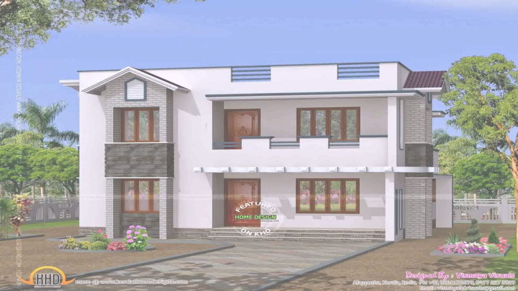 Glamorous House Plans India Village - Youtube with Village House Plans With Photos