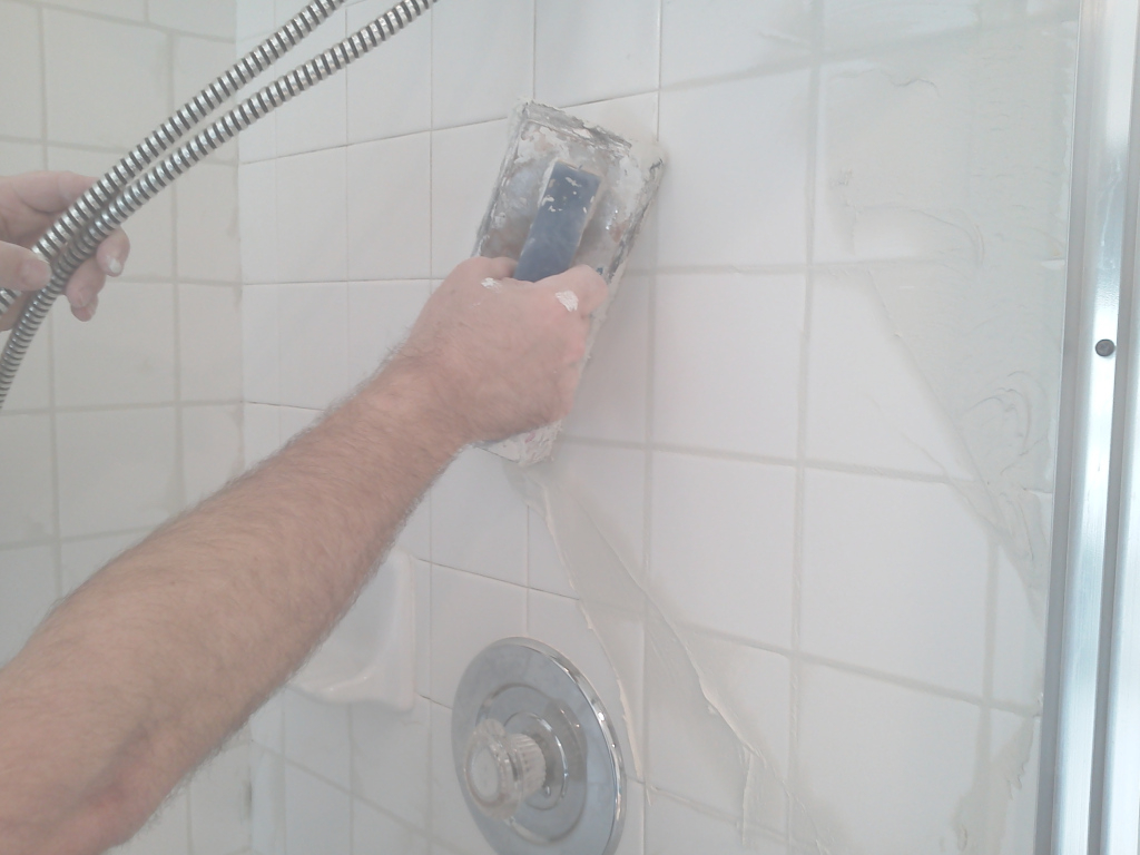 Glamorous How To Regrout A Shower - Pristine Tile & Carpet Cleaning throughout How To Regrout Kitchen Tile