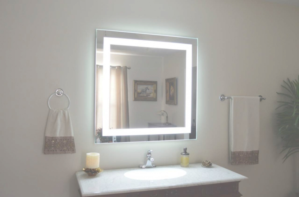Glamorous Illuminated Wall Mirrors For Bathroom | My Web Value for Best of Illuminated Wall Mirrors For Bathroom