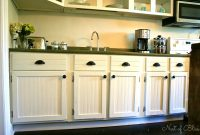Glamorous Image Result For Antique White Kitchen Cabinets With Chocolate Glaze regarding Diy Beadboard