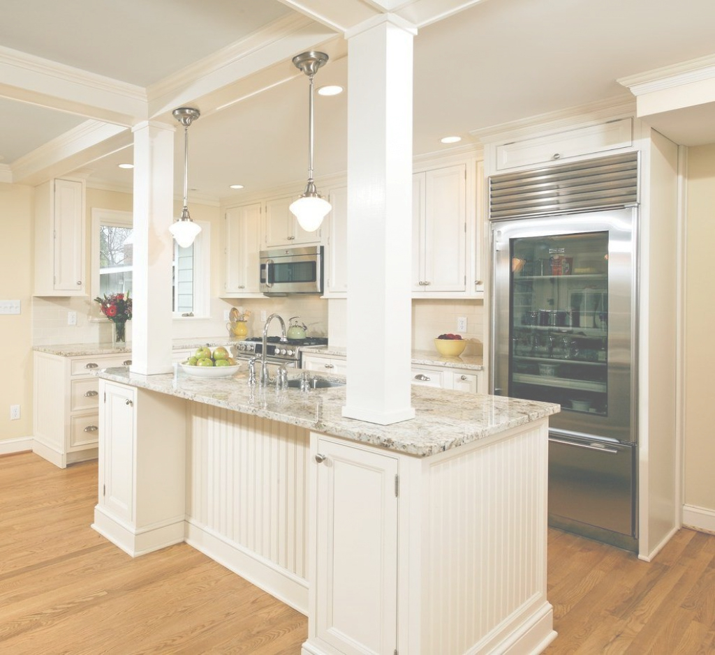 Glamorous Image Result For Load Bearing Column In Kitchen Island | Vladimer in Unique Kitchen Island With Columns