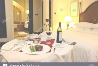 Glamorous In Room Dining In A Hotel Room. Meal Service. Shangri-La Hotel with regard to Luxury In Room Dining