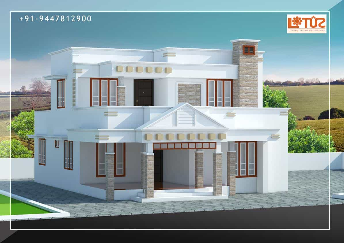 Glamorous Kerala Home Designs | House Plans & Elevations | Indian Style Models in Fresh New House Plans In Kerala