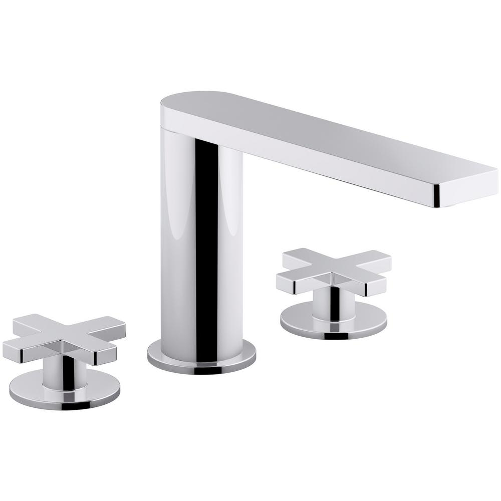 Glamorous Kohler Composed 8 In. Widespread 2-Handle Cross Handle Bathroom for Cross Handle Bathroom Faucet
