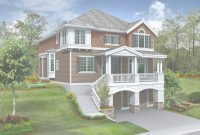 Glamorous Lake House Plans Walkout Basement Glorious Bungalow House Plans With intended for Review The Bungalow Lakehouse