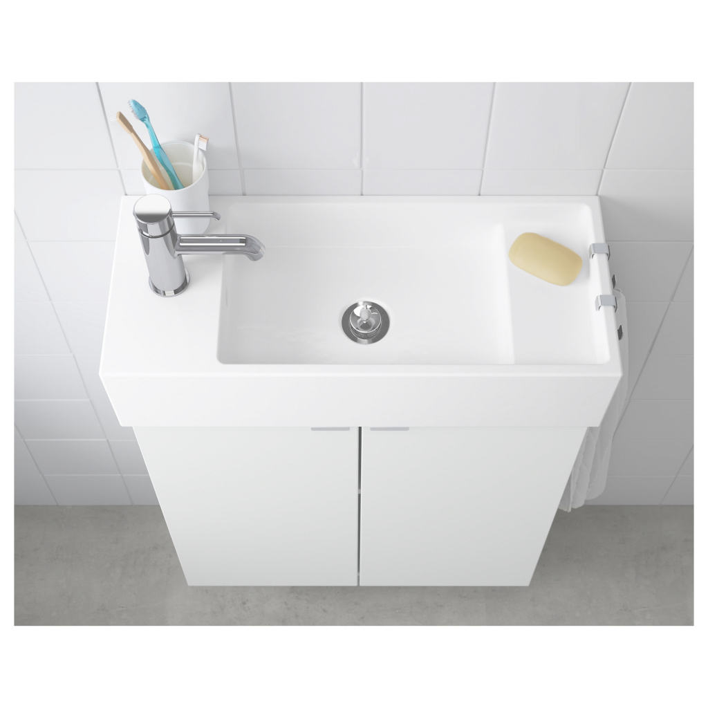 "Glamorous Lillången Sink - 24 3/8X10 5/8X5 1/2 "" - Ikea intended for Elegant Ikea Sink Bathroom"