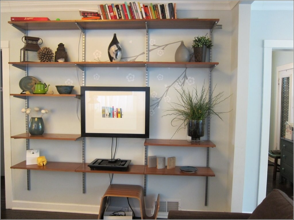 Glamorous Living Room Shelving Ideas | Masimes in Fresh Living Room Shelving