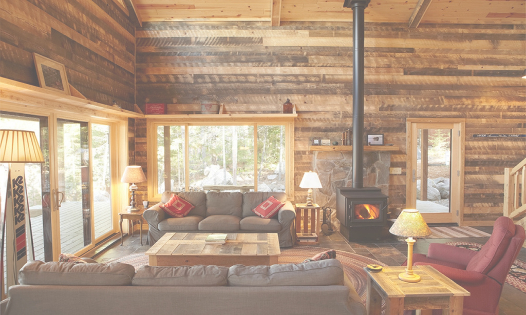Glamorous Log Cabin Living Room - Living Room Ideas intended for Cabin Living Room
