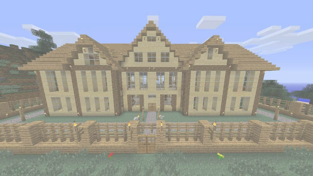 Glamorous Minecraft Wooden House + Download - Youtube in Beautiful Minecraft Cool Houses Download