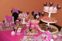 Glamorous Minnie Mouse Baby Shower |  ,catering De Mesas Dulces Ambientadas in Mesa De Dulces Para Baby Shower