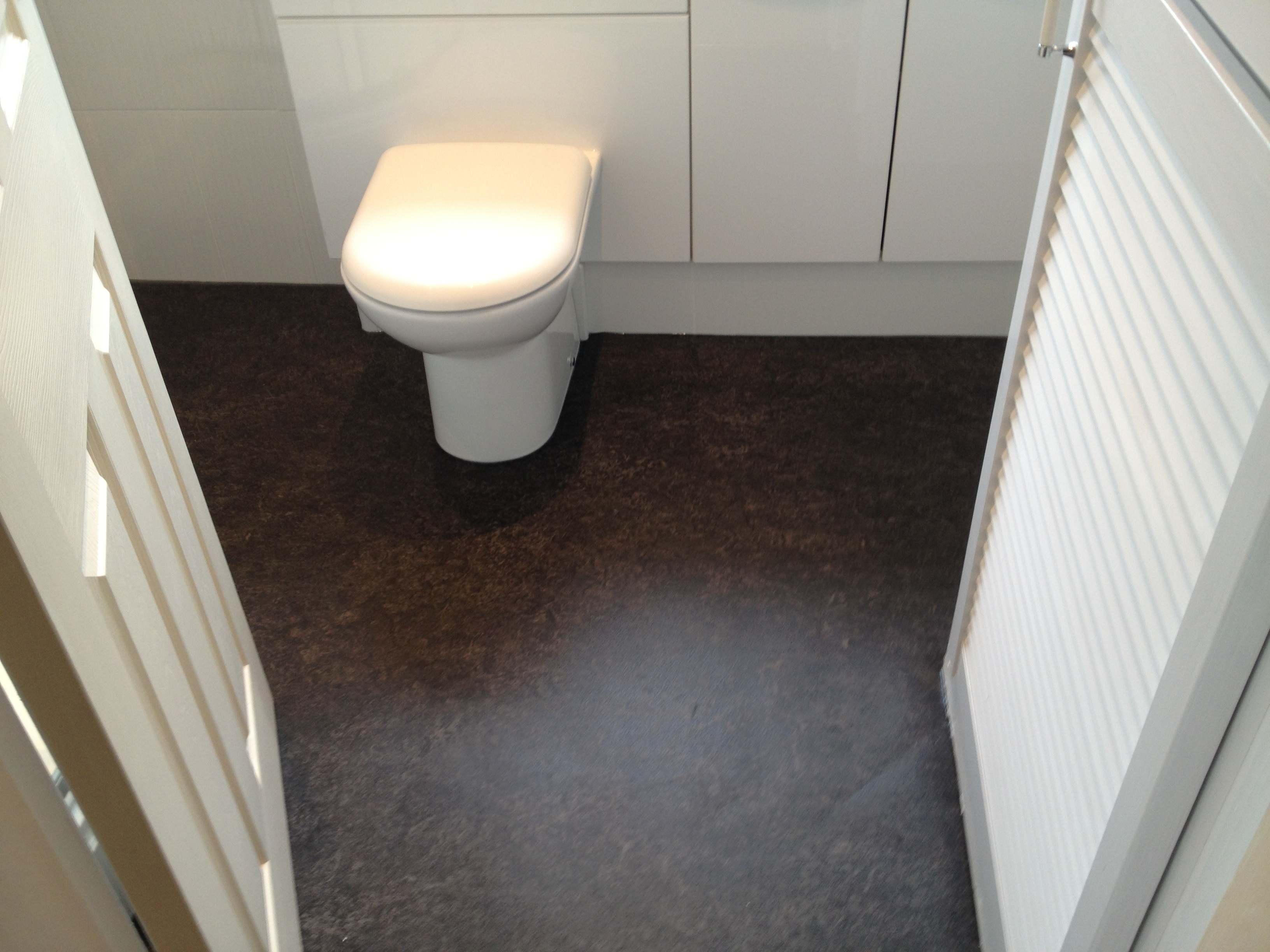 Glamorous Modern Style Bathroom Vinyl Flooring Vinyl Bathroom Flooring Image 4 throughout Best of Flooring For Bathrooms