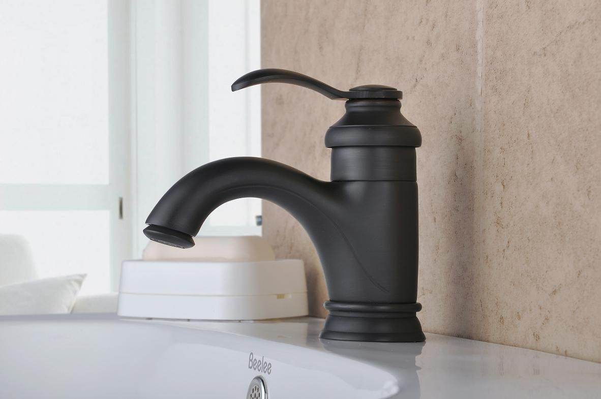 Glamorous Moen Vessel Sink Faucets : Hot Home Decor - Fashionable Oil Rubbed within Bathroom Faucet Oil Rubbed Bronze