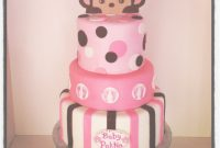 Glamorous Monkey Baby Shower Cake – Cakecentral with regard to Lovely Baby Shower Monkey Cakes