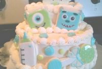 Glamorous Monsters Inc Baby Shower | My Cakes &cupcakes | Pinterest | Monsters throughout Monsters Inc Baby Shower Cake