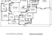 Glamorous One Story Four Bedroom House Plans | Story, 4 Bedroom, 3.5 Bathroom pertaining to Inspirational 3 4 Bathroom Floor Plans
