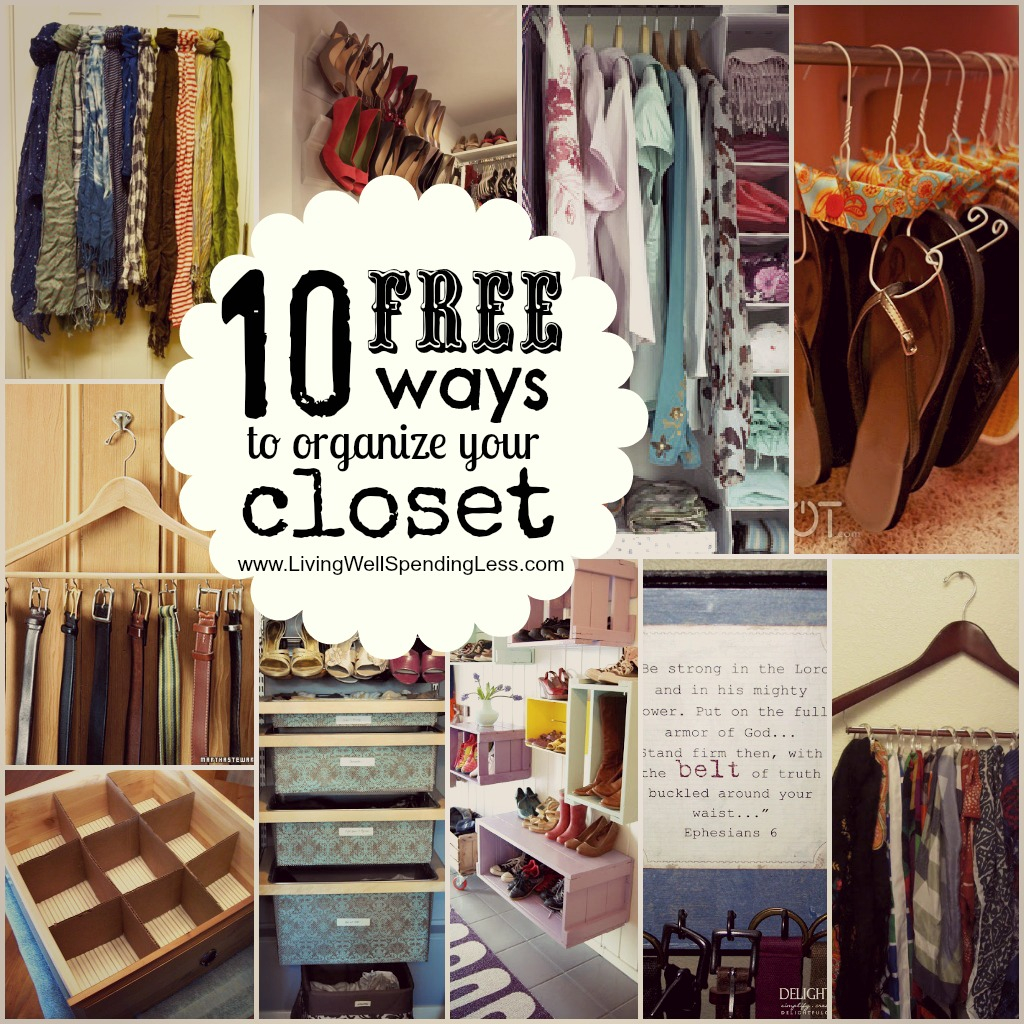 Glamorous Organize Your Bedroom Closet | Living Well Spending Less® with Beautiful How To Arrange Your Bedroom
