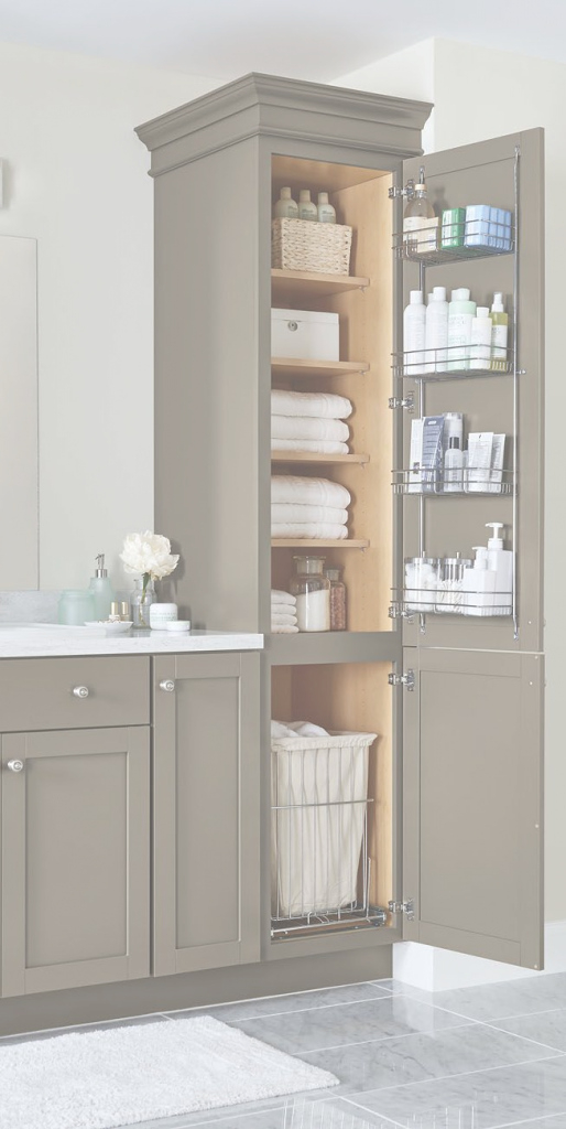 Glamorous Our Top 2018 Storage And Organization Ideas—Just In Time For Spring within Vanities For Small Bathroom