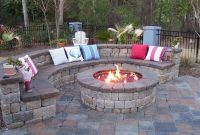 Glamorous Outdoor Backyard Landscaping Ideas With Fire Pit : Manitoba Design inside Review Backyard Landscaping Ideas With Fire Pit