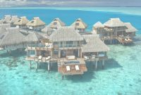 Glamorous Overwater Bungalows In The Caribbean | The Tiki Hut Company inside Over The Water Bungalows In Caribbean