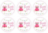 Glamorous Owl Birthday Party With Free Printables – How To Nest For Less™ intended for High Quality Free Printable Baby Shower Favor Tags Template