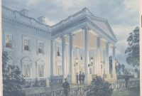 Glamorous Painting Of President Lincoln Under The North Portico – White House pertaining to Painting House White