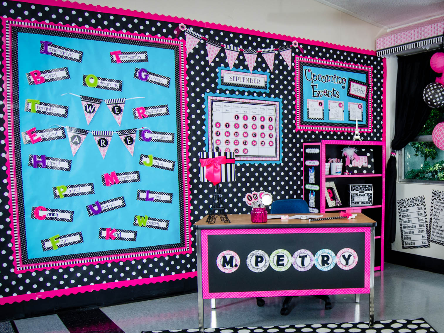 Glamorous Parisian « Classroom Decorations | Teacher Created Resources with Best of Classroom Decorating Themes