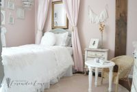 Glamorous Pink Vintage Girl's Bedroom – Seeking Lavendar Lane regarding Vintage Bedroom