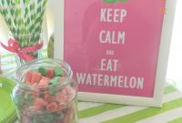 Glamorous Pregnancy || Watermelon Baby Shower: One In A Melon | Life As Mrs with Review Watermelon Baby Shower