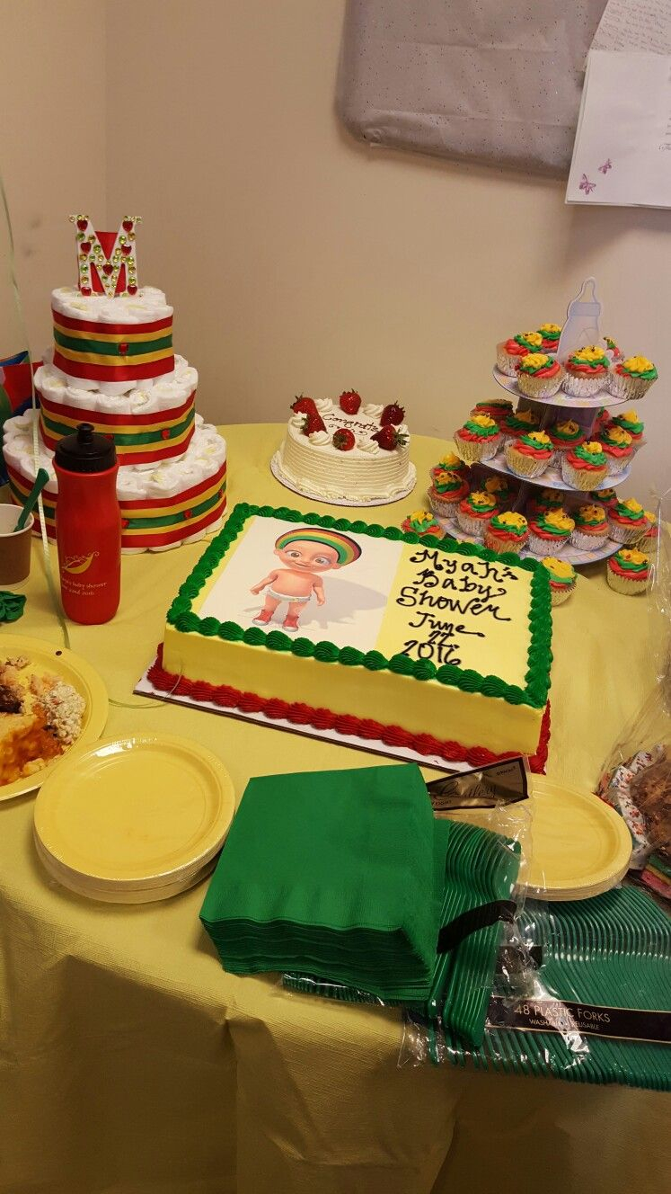 Glamorous Rasta Work Baby Shower | Bob Marley | Pinterest | Work Baby Showers pertaining to Good quality Work Baby Shower