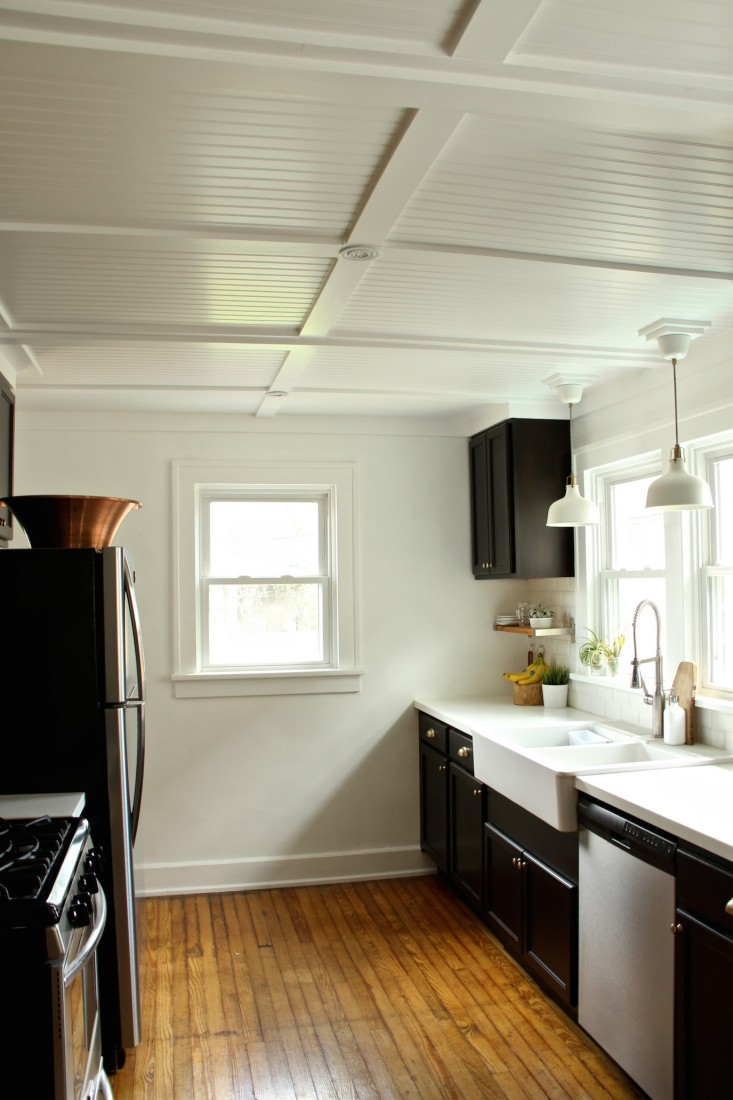 Glamorous Rehab Diaries: Diy Beadboard Ceilings, Before And After - Remodelista for Fresh Diy Beadboard