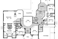 Glamorous San Simeon 4136 – 4 Bedrooms And 3 Baths | The House Designers for 3 4 Bathroom Floor Plans