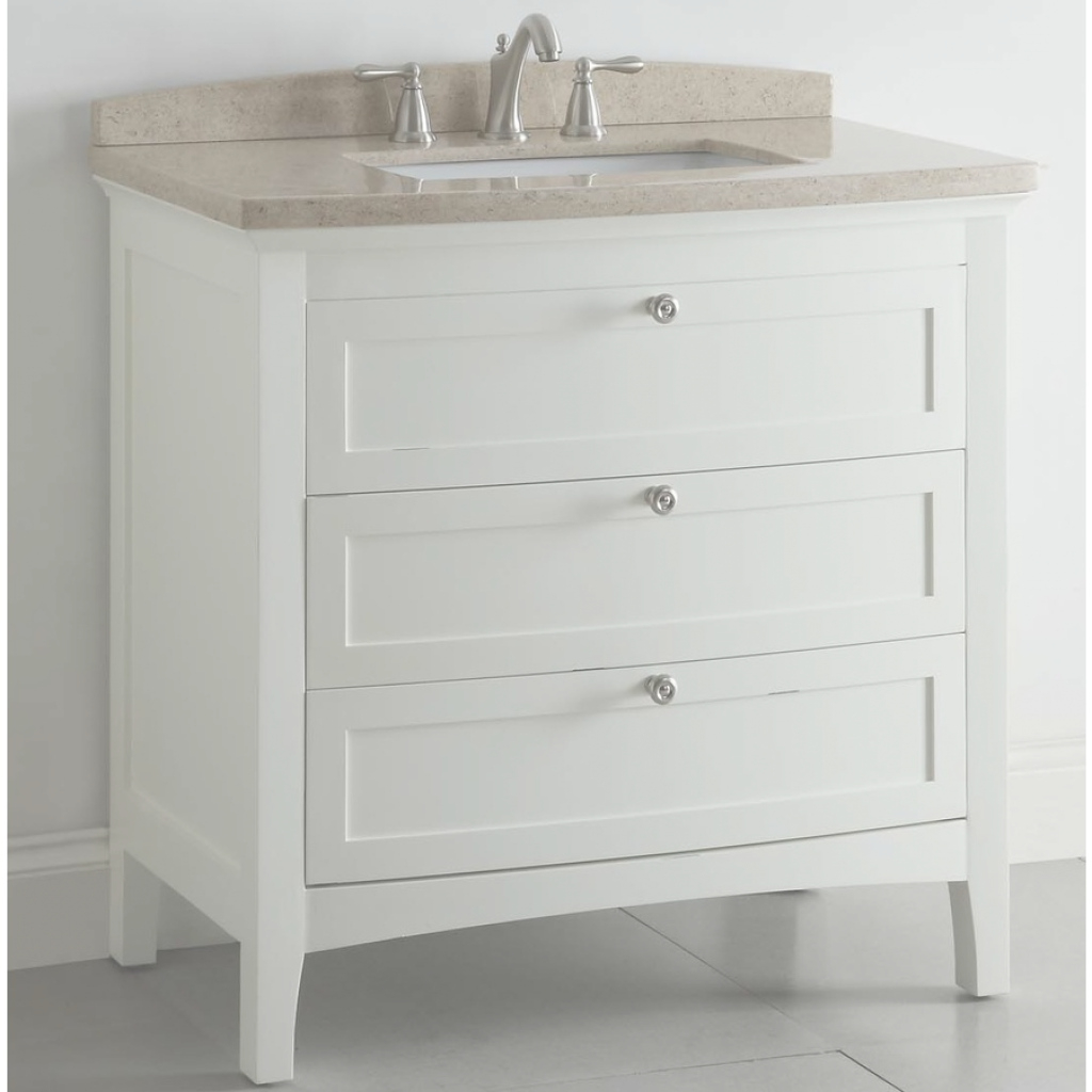 Glamorous Shop Allen + Roth Windleton White With Weathered Edges Undermount within Allen And Roth Bathroom Vanities
