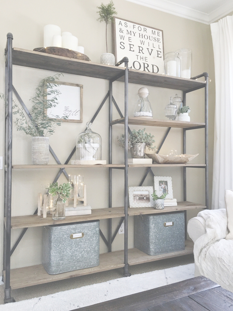 Glamorous Simplified Shelves | Pinterest | Clutter, Living Rooms And Room throughout Inspirational Living Room Shelving Units
