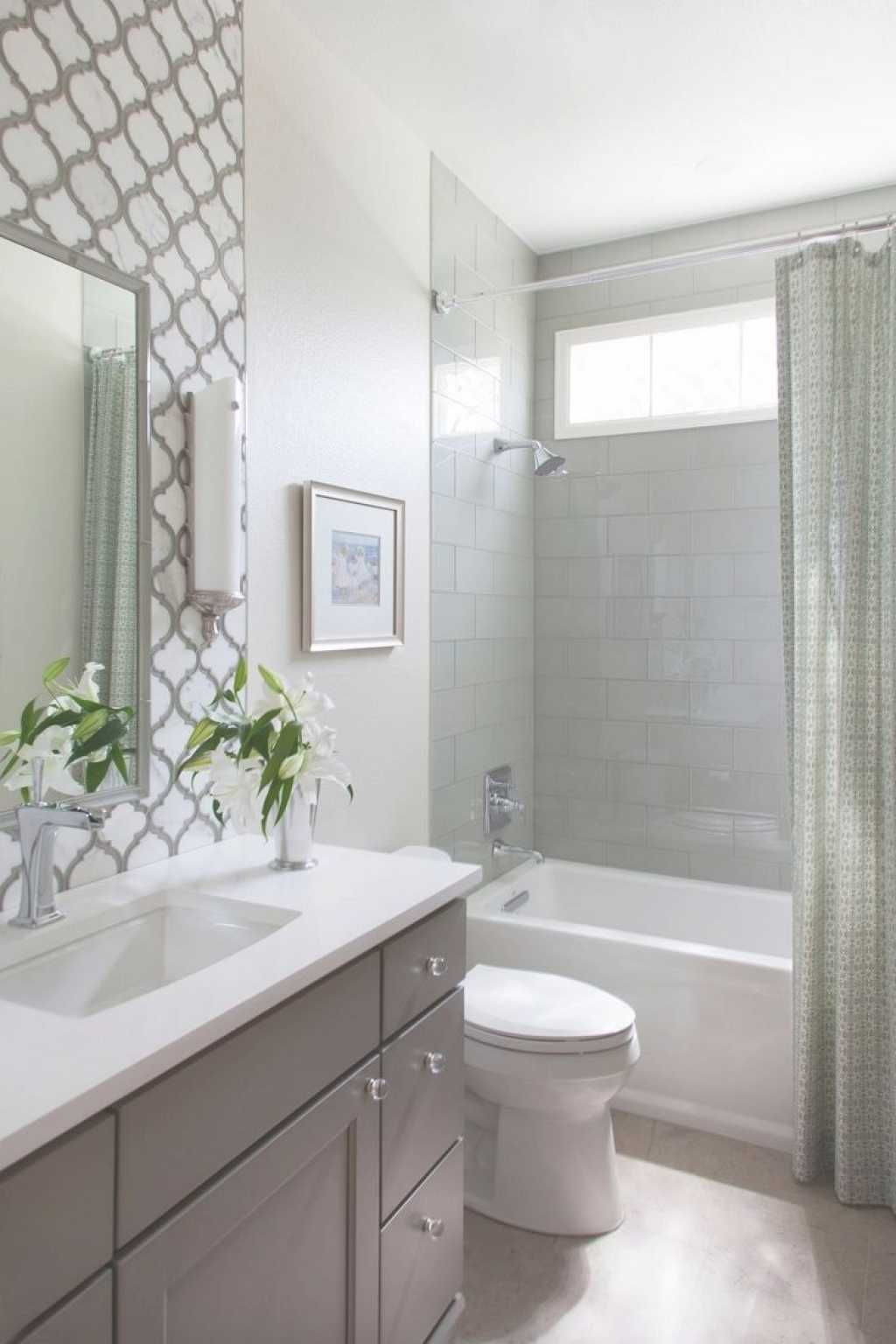 Glamorous Small Bathroom Tub Shower Combo Remodeling Ideas Http://zoladecor intended for Ideas For Small Bathroom Remodel