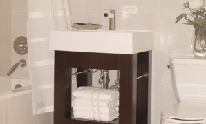Glamorous Small Bathroom Vanities | Hgtv with Small Bathroom Sinks And Vanities