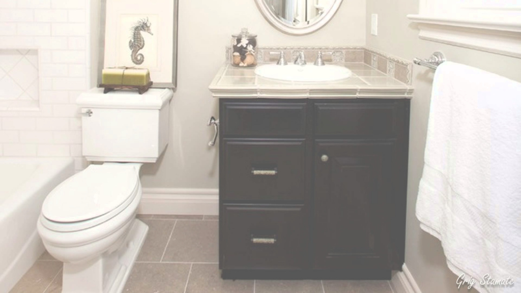 Glamorous Small Bathroom Vanity Cabinet Ideas - Youtube regarding Vanity For Small Bathroom
