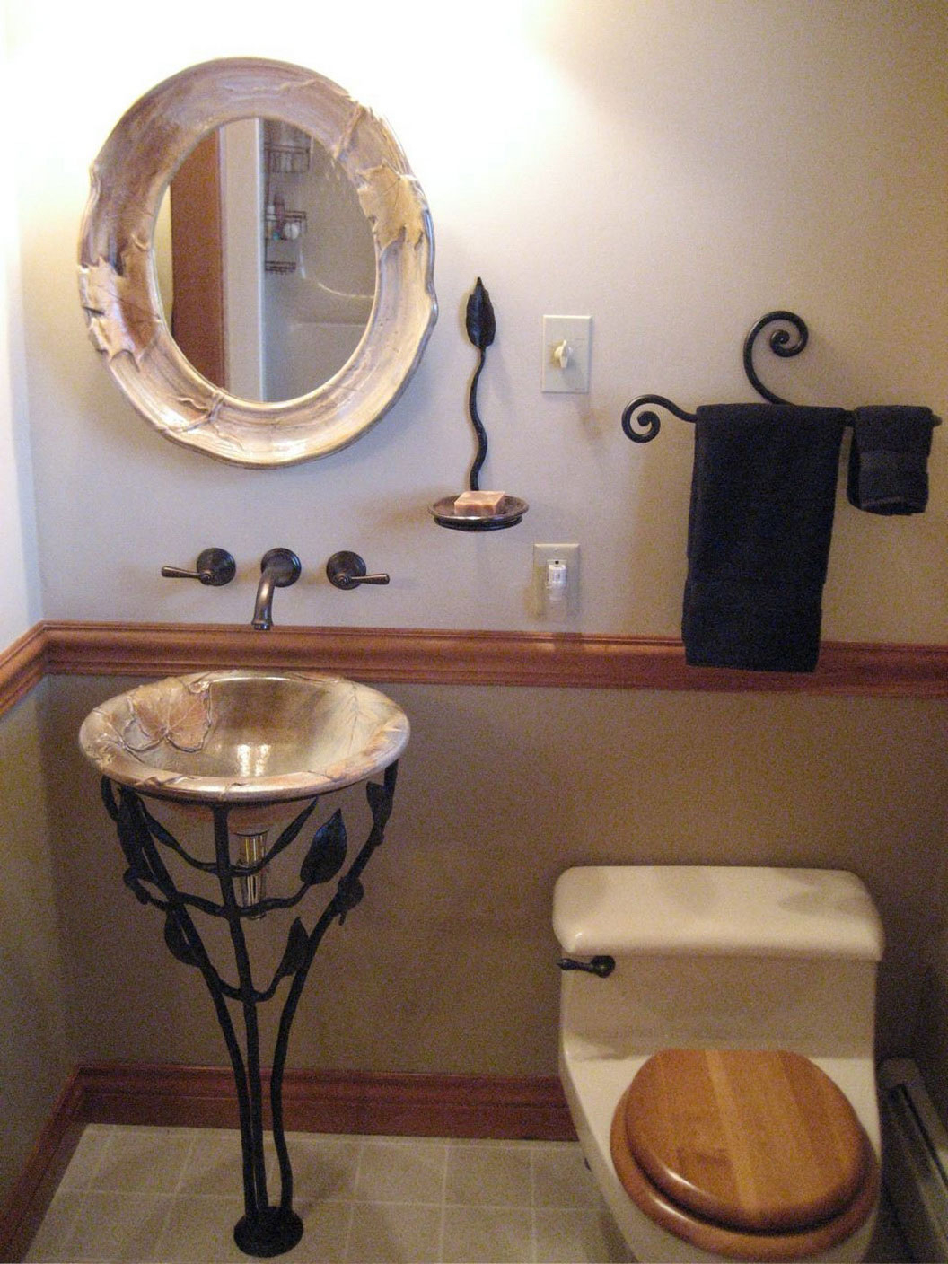 Glamorous Small Vessel Sinks For Bathrooms | Homesfeed with regard to Review Small Sinks For Small Bathrooms