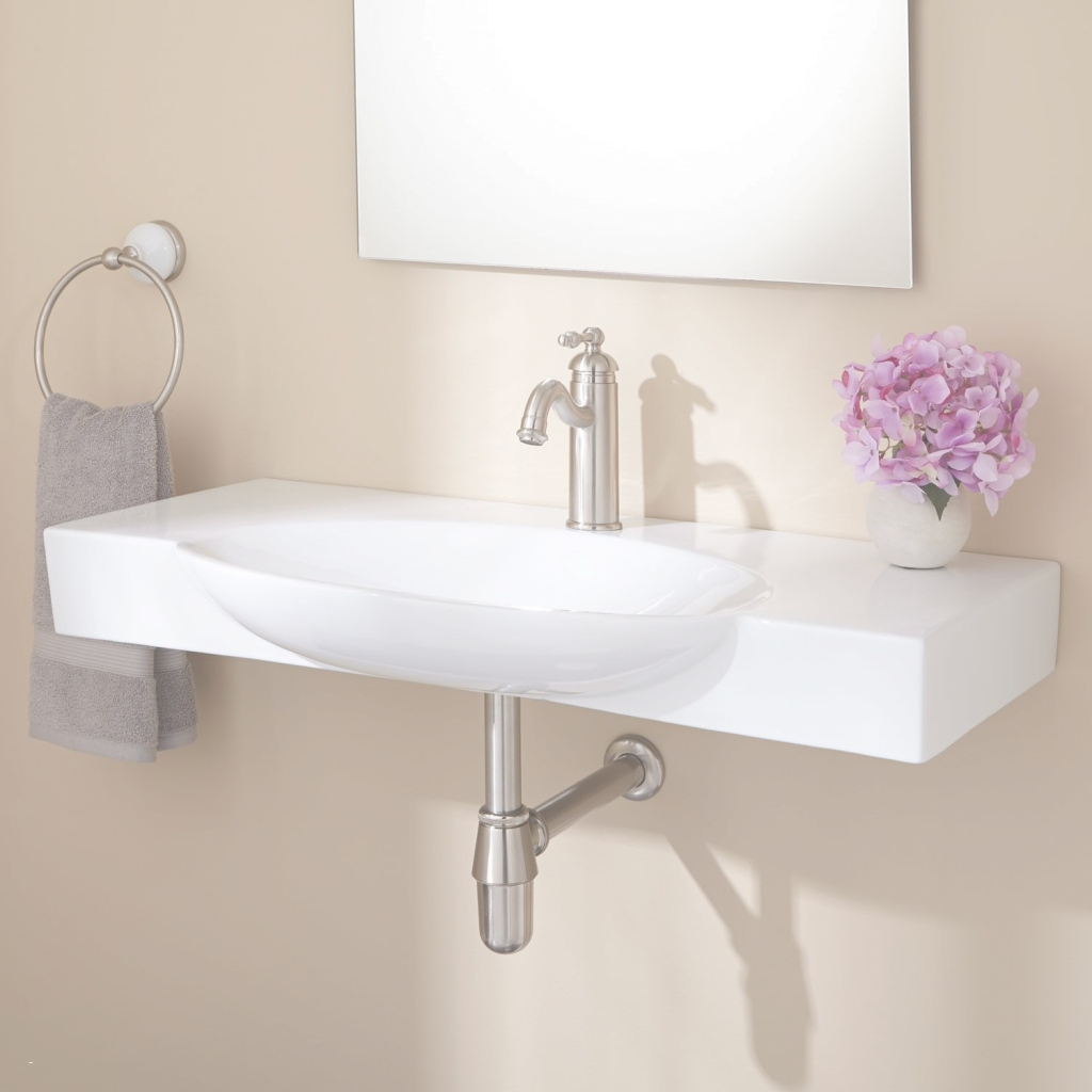 Glamorous Small Wall Mounted Bathroom Sinks Elegant Small Wall Mount Bathroom in Unique Wall Mount Bathroom Sink