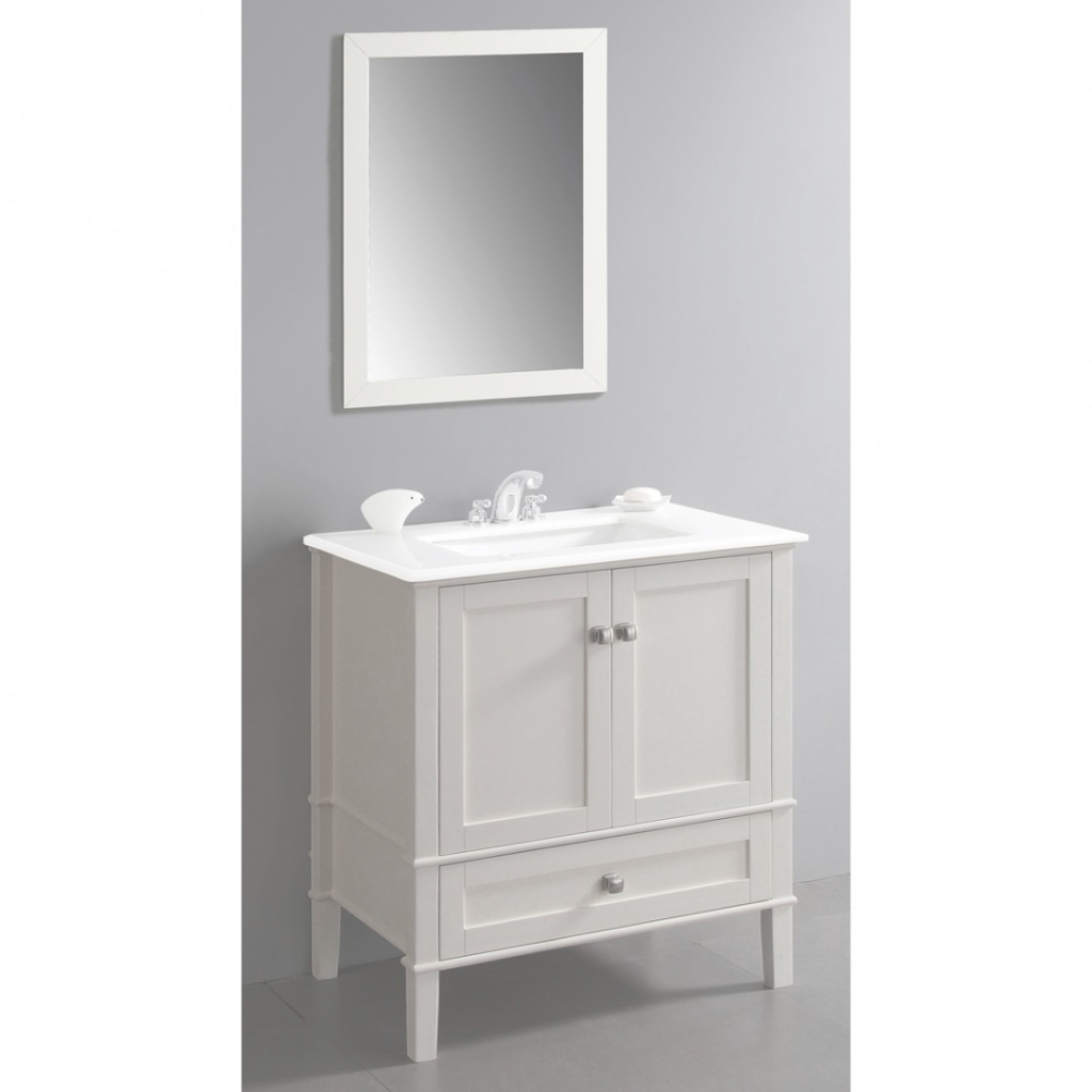 Glamorous Staggering Small White Bathroom Vanity Madrigalibz Site within Small White Bathroom Vanity