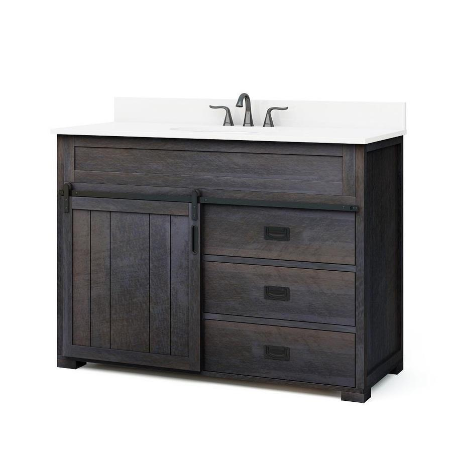 Glamorous Style Selections Bathroom Vanities, Vanity Tops And Vanity within 44 Bathroom Vanity