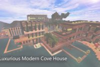 Glamorous The Cove House Minecraft Project within Minecraft Cool Houses Download