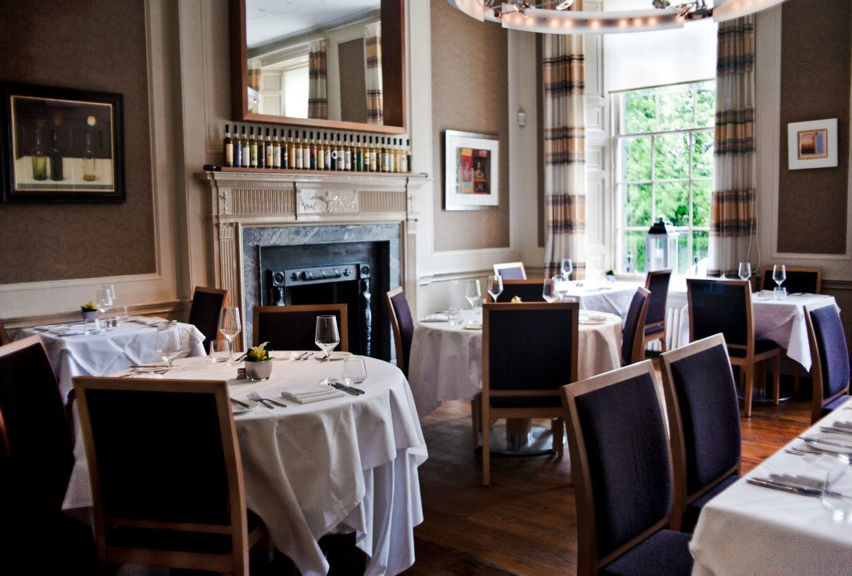 Glamorous The Dining Room At 28 Queen Street – Edinburgh | Bookatable in The Dining Room Edinburgh