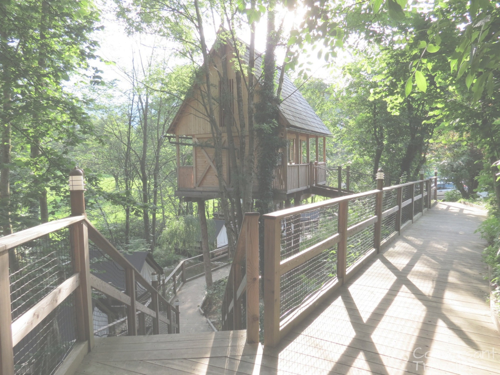 Glamorous Treehouse Sleeping At Garden Village Bled | Bled Slovenia And Slovenia throughout Garden Village Slovenia