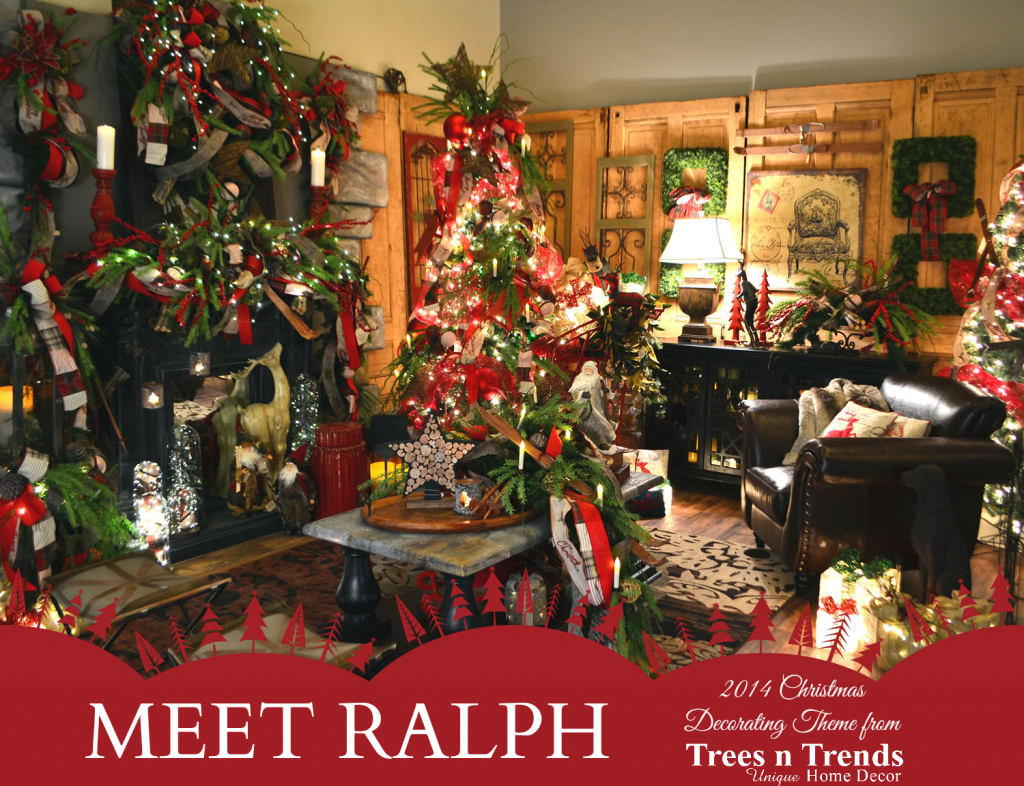 Glamorous Trees N Trends: A Christmas Decorating Theme For Every Member Of The in Christmas Decoration Themes