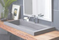Glamorous Trough 3619 – Nativestone® Rectangular Bathroom Sink | Native Trails pertaining to Trough Sink Bathroom