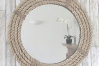Glamorous Twisted Rope Round Mirror | Pinterest | Mirrors Online, Decorative throughout Awesome Nautical Mirror Bathroom
