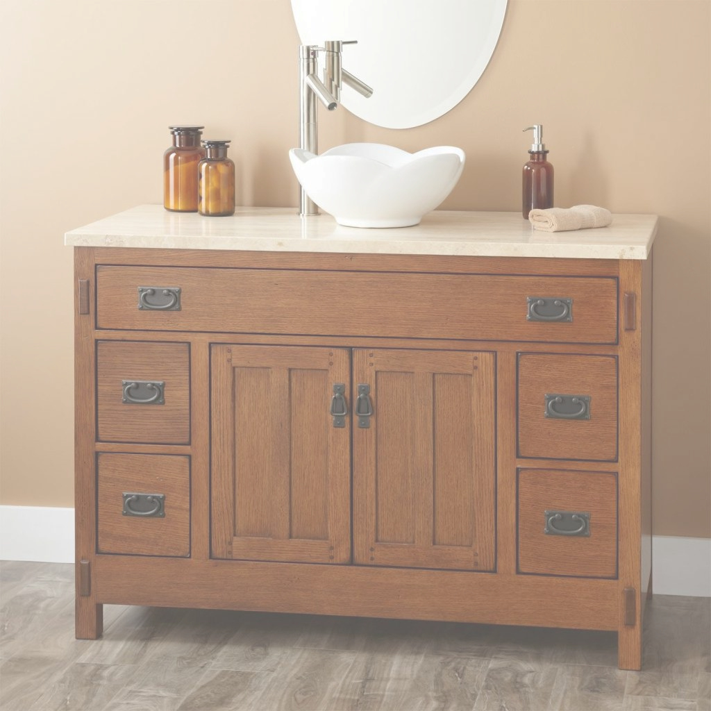 Glamorous Well Suited 54 Inch Bathroom Vanity Single Sink Home Decor Pottery within Beautiful 54 Bathroom Vanity