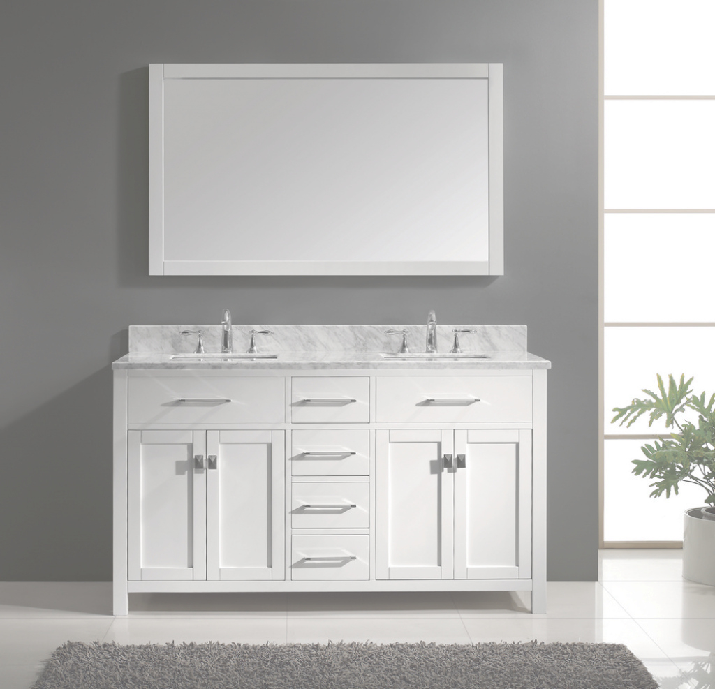 Glamorous White Bathroom Vanities Best | Wallowaoregon : White Bathroom intended for Beautiful 54 Bathroom Vanity